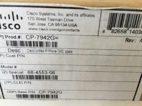 7942 Cisco CP-7942G NIEUW