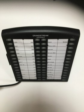 Grandstream GXP2020EXT GXP2020 keymodule