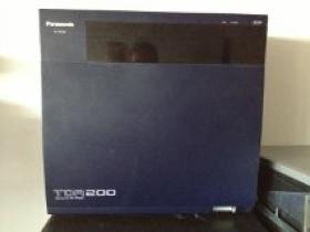 200 Panasonic KX-TDA200 TDA200 telefooncentrale cabinet