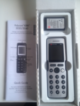 Polycom Tiptel Kirk Dect 5040 telefoon